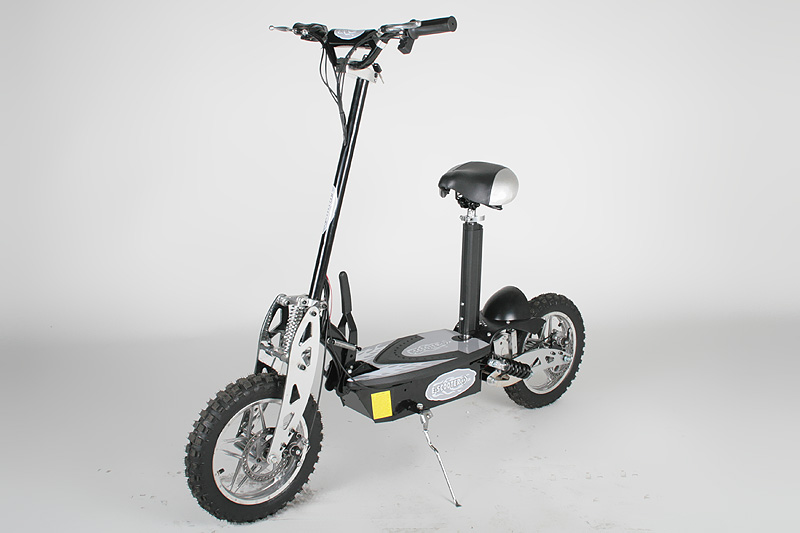 elektro scooter 1000 watt 1260 36 48 volt roller e scooter e bike elektroroller ebay. Black Bedroom Furniture Sets. Home Design Ideas