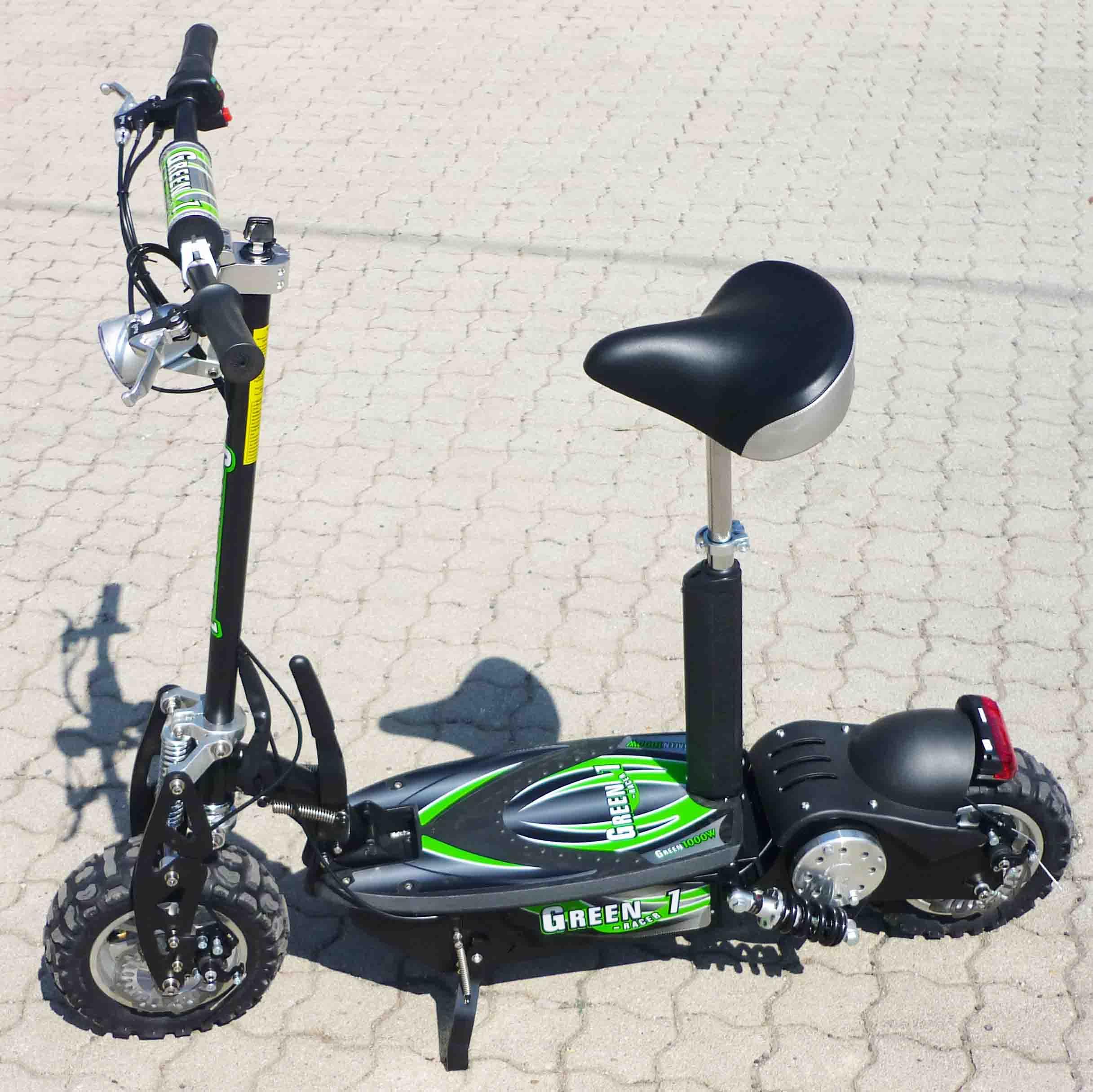 elektro scooter 1000 watt 1260 36 48 volt roller e scooter. Black Bedroom Furniture Sets. Home Design Ideas