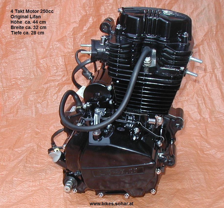 motor 4 takt 250cc lifan 5 gang dirt bike motocross quad. Black Bedroom Furniture Sets. Home Design Ideas